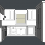 Designing kitchen cabinets in SketchUp