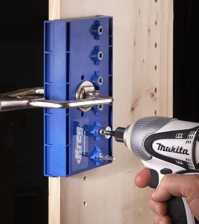 Tool Test: Kreg Shelf-pin Jig - Popular Woodworking Magazine