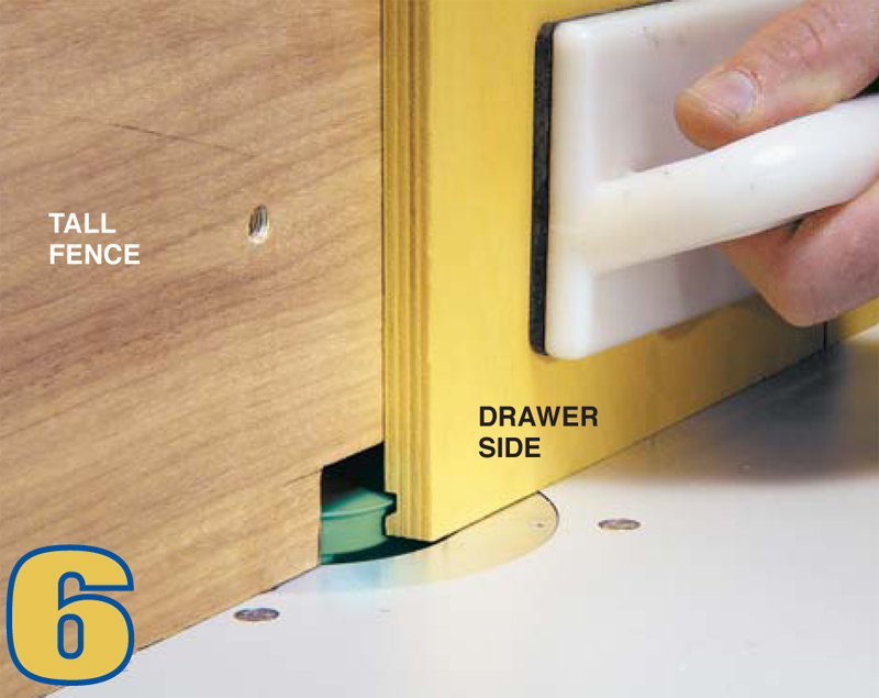 lock rabbet drawer joints router 1