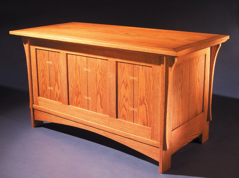 Mission Blanket Chest - Popular Woodworking Magazine