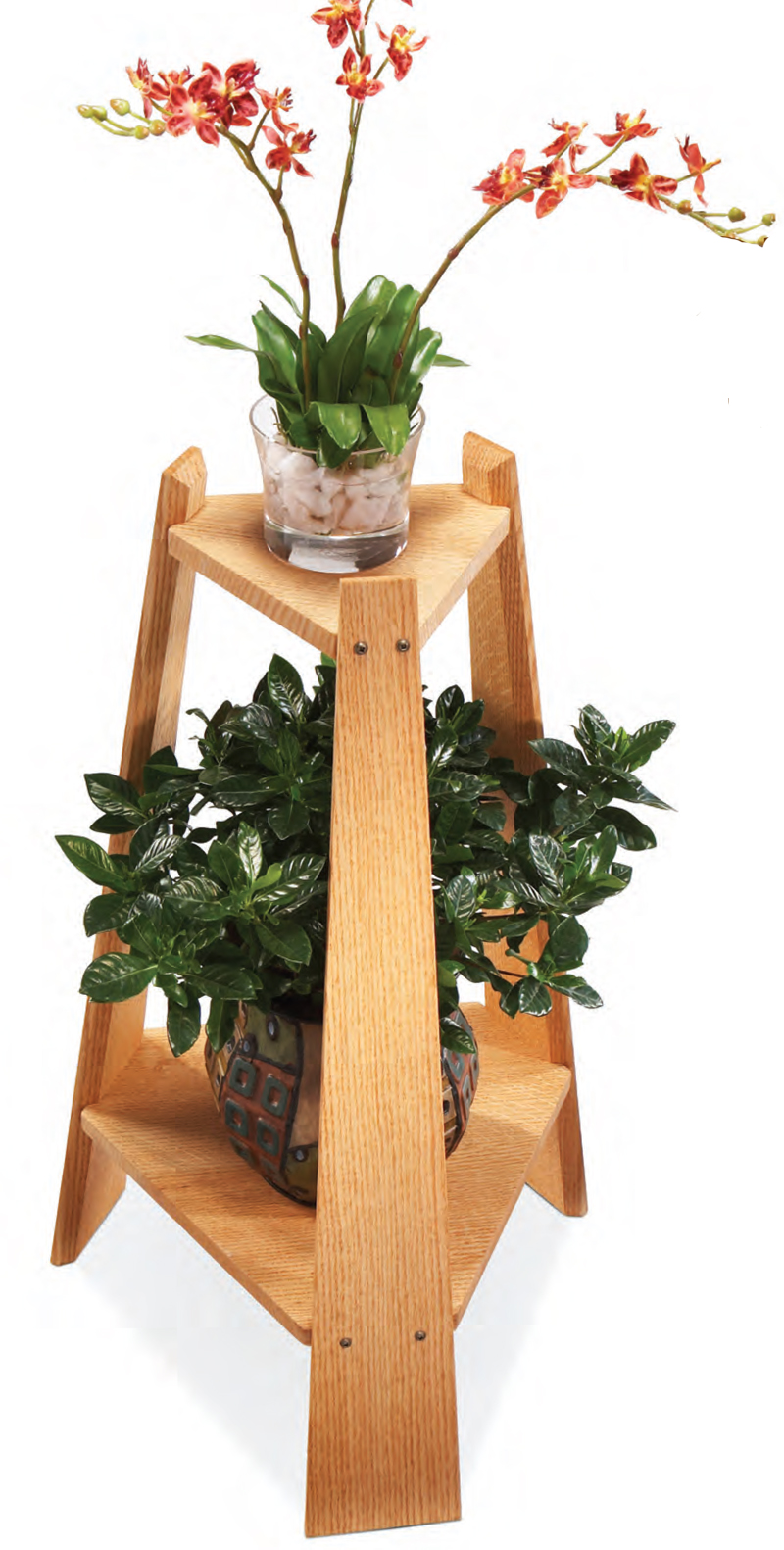Mission Plant Stand - Popular Woodworking Magazine