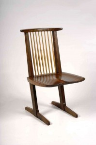 Nakasima's Conoid chair.