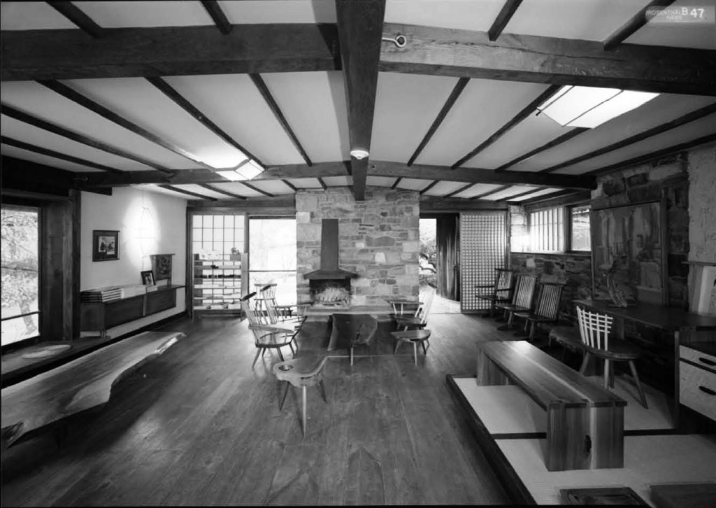 Nakashima Showroom - interior