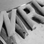 Oak Sign Letters