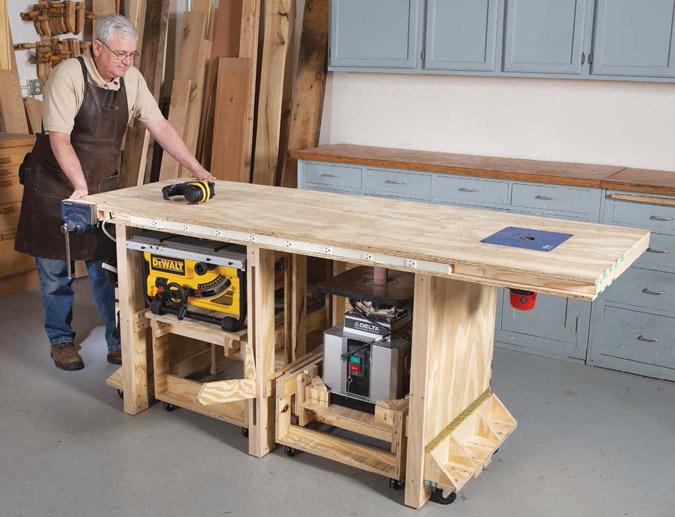 Richard Tendick S Power Tool Bench Plans At Popular