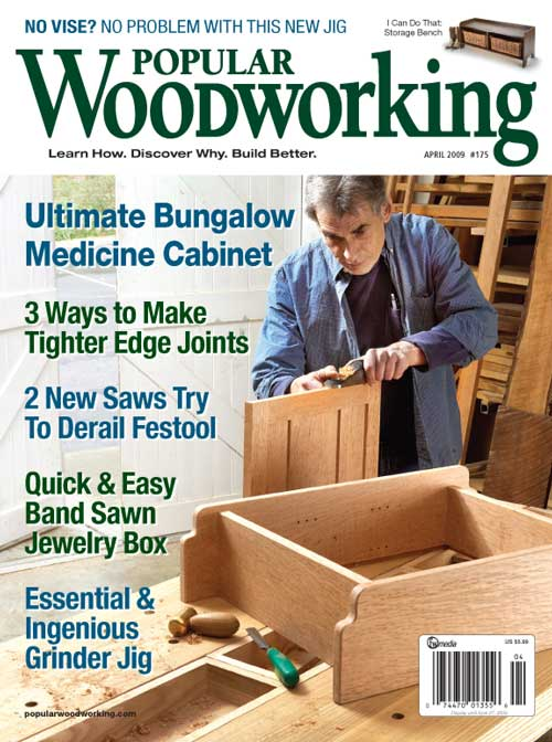 Popular Woodworking April 2009 issue