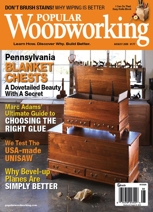 Popular Woodworking August 2009 issue