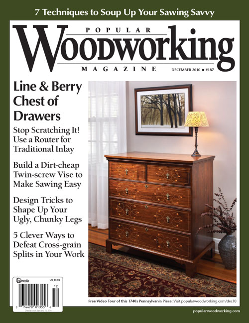 Popular Woodworking December 2010 issue