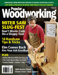 August 2004 Issue Popular Woodworking