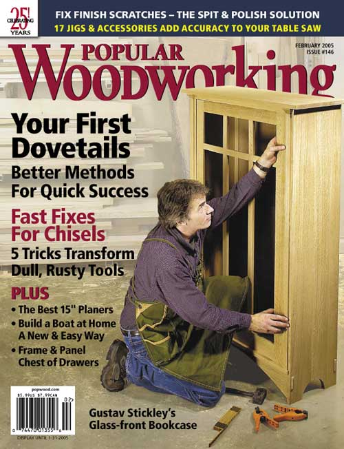Popular Woodworking February 2005