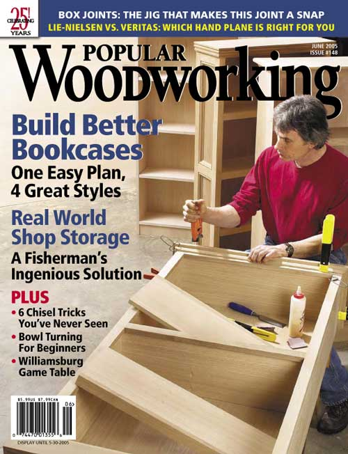 Popular Woodworking June 2005