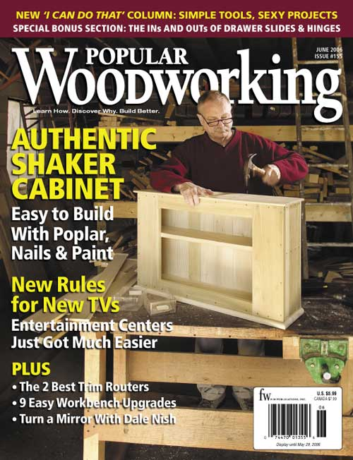 Popular Woodworking June 2006