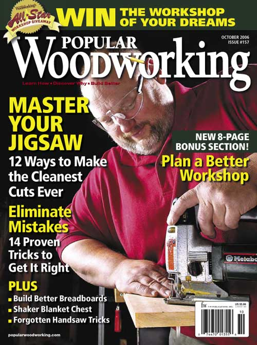 Popular Woodworking October 2006 issue