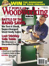 November 2006 Issue Popular Woodworking