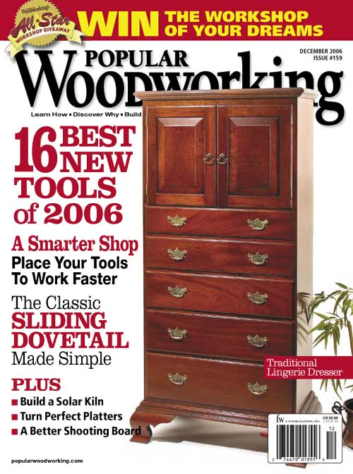 Popular Woodworking December 2006 issue