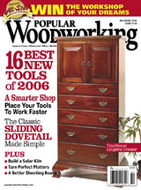 December 2006 Issue Popular Woodworking
