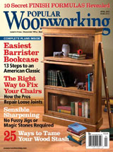 April 2007 Issue Popular Woodworking