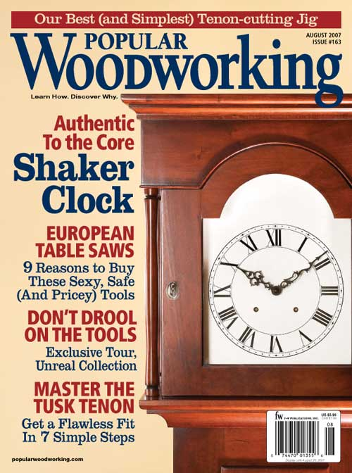 Popular Woodworking August 2007 issue