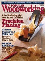 October 2007 Issue Popular Woodworking