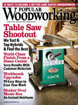 November 2007 Issue Popular Woodworking