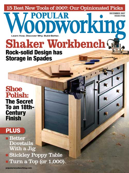 Popular Woodworking December 2007 issue