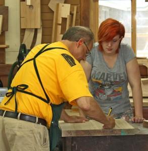 preparing woodworkers