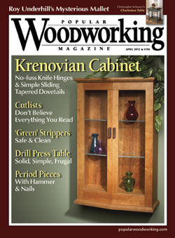 Popular Woodworking April 2012 issue
