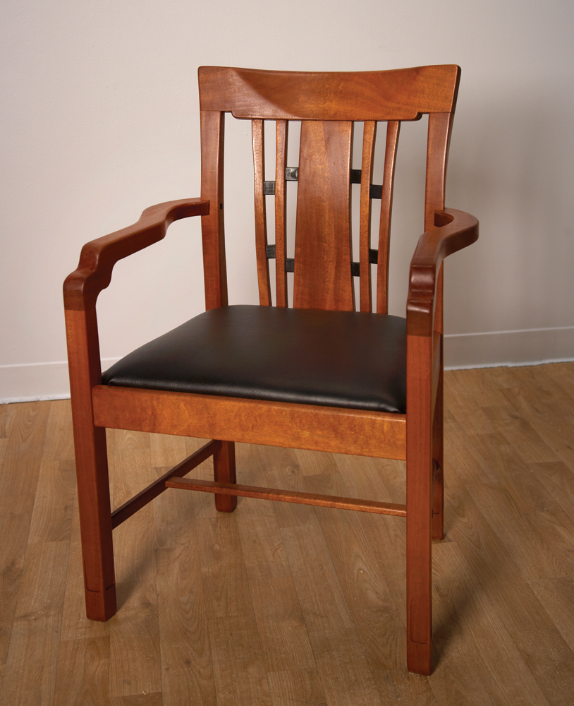 Fantastically Difficult Greene and Greene Chair... Built by a 14-year ...