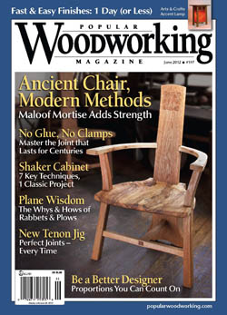Popular Woodworking June 2012 issue