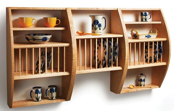 Kelly Mehler's Plate Rack - Popular Woodworking Magazine