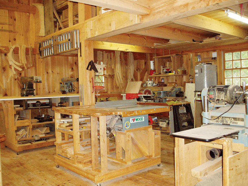 Post And Beam Shop Popular Woodworking Magazine