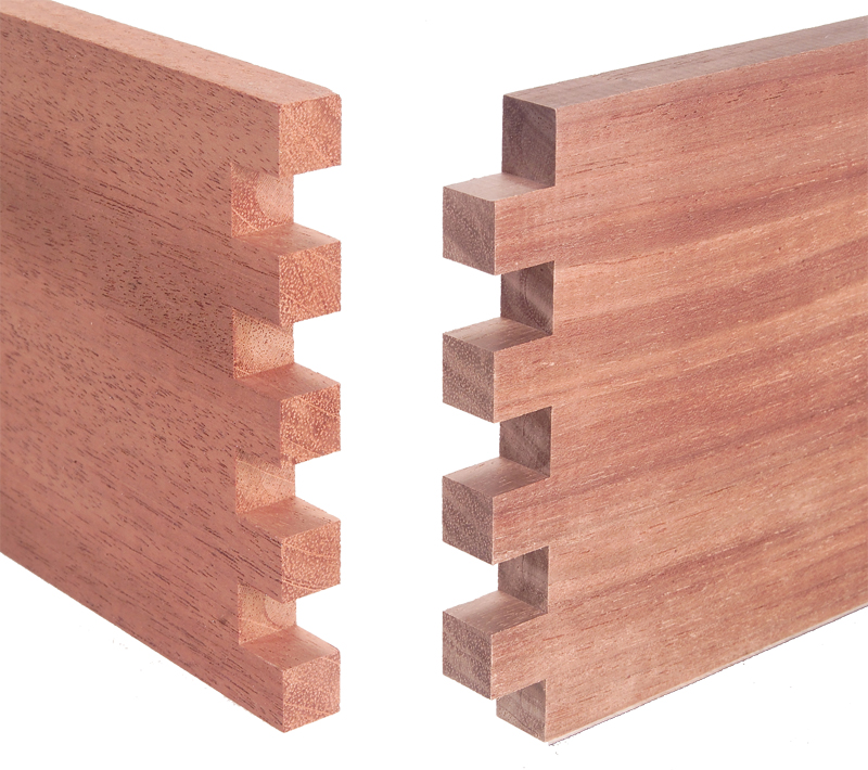 How to make box joints with a router table diy jig plans for Table joints