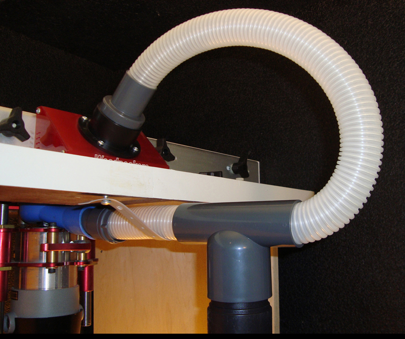 Router Table Dust Collection Router Table Dust Collection