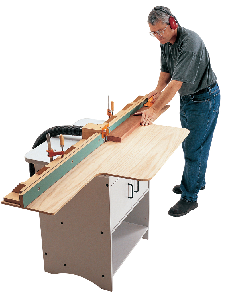 Router Table Jointer Fence - Popular Woodworking Magazine