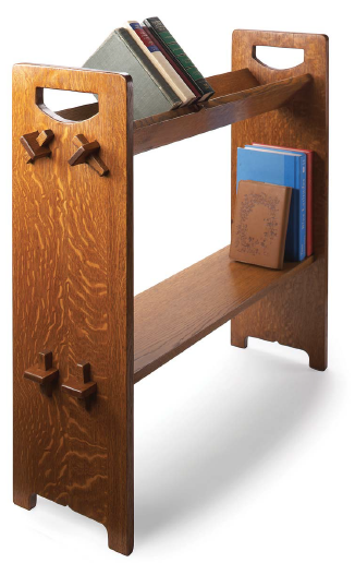 Plans For A Stickley Book Rack