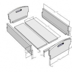 Shaker Carry Box SketchUp