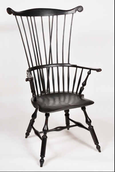 Comb-Back Chair by Curtis Buchanan