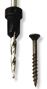 The Fuller countersink is driven by the drill bit. When the countersink meets resistance, it tends to slip on the drill bit's shaft.