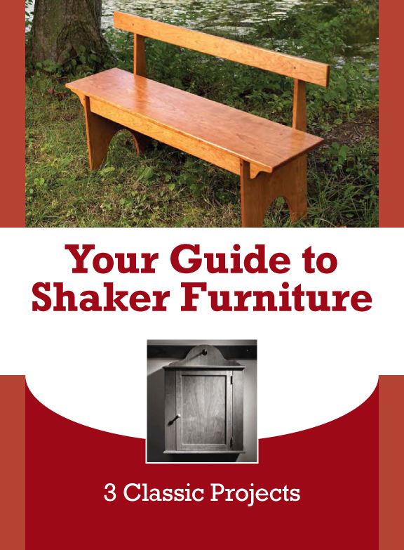 Shaker Furniture Plans Don't Get Any Better Than This