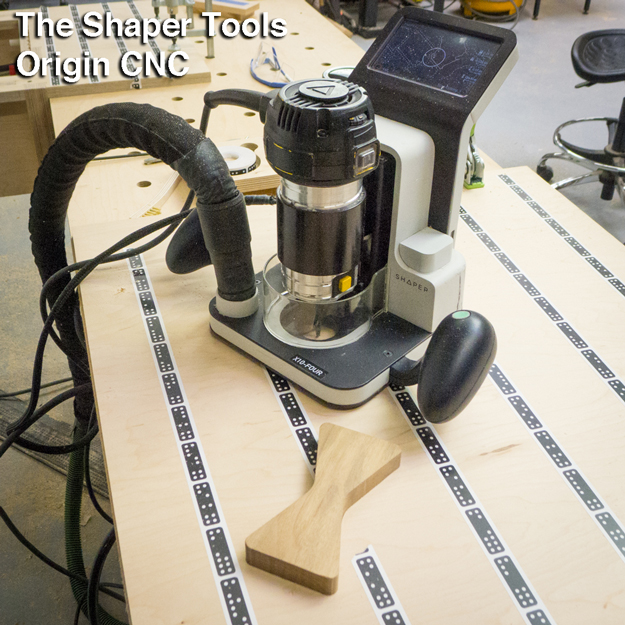 The Shaper Tools Origin. A CNC you can hold in your hand. That's a ...