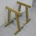 Simple Sawhorse Project