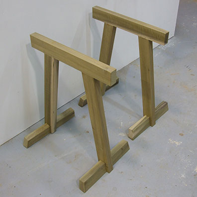 Simple Sturdy Sawhorses Popular Woodworking Magazine