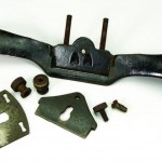 Stanley metal spokeshave in parts
