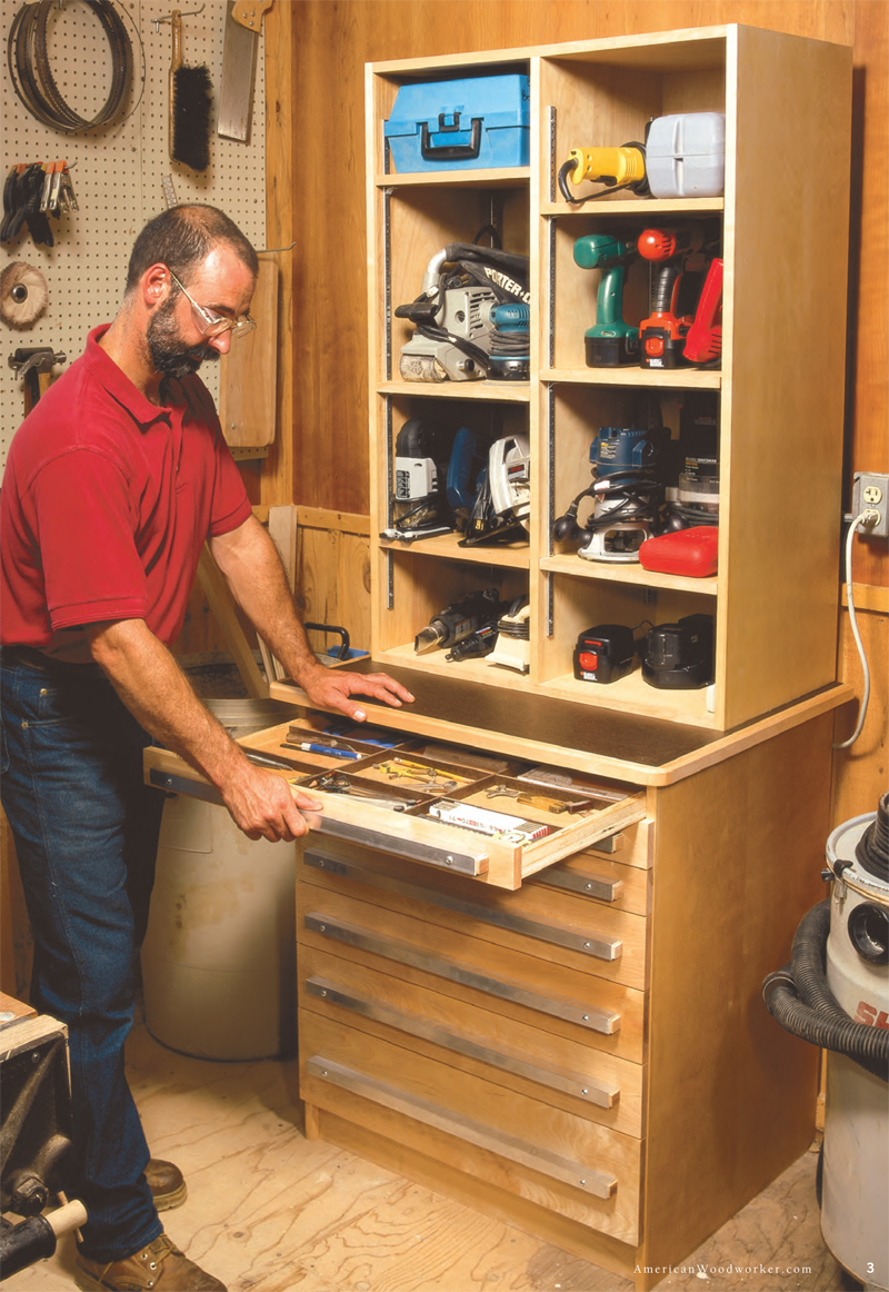 Lastest Heirloom Rolling Tool Cabinet Woodworking Plan From WOOD
