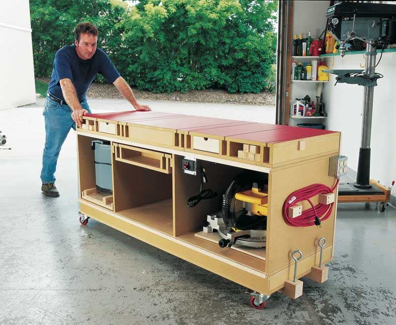 You Have to Try This Ultimate Tool Stand & DIY Workbench