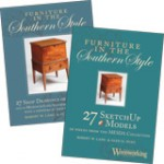 Furniture in the Southern Style Collection (Book & CD)
