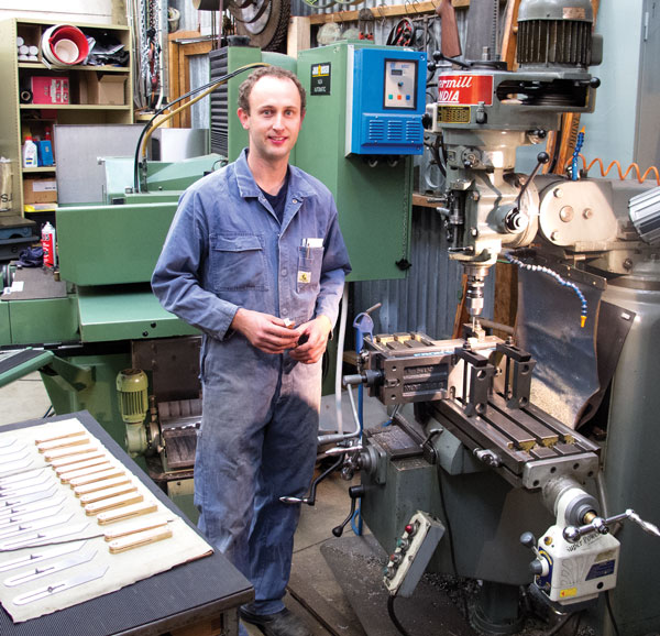 Chris Vesper strives for precision and perfection in toolmaking (and