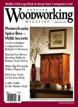 August 2011 Issue Popular Woodworking