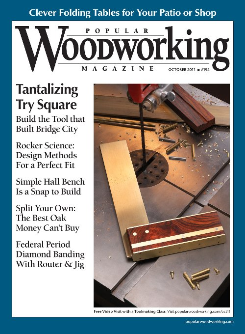 Popular Woodworking October 2011 issue