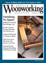 October 2011 Issue Popular Woodworking